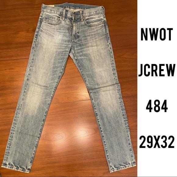 NWOT 29x32 484 Japanese Kaihara J.Crew Denim Jeans